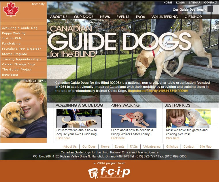 Canadian Guide Dogs