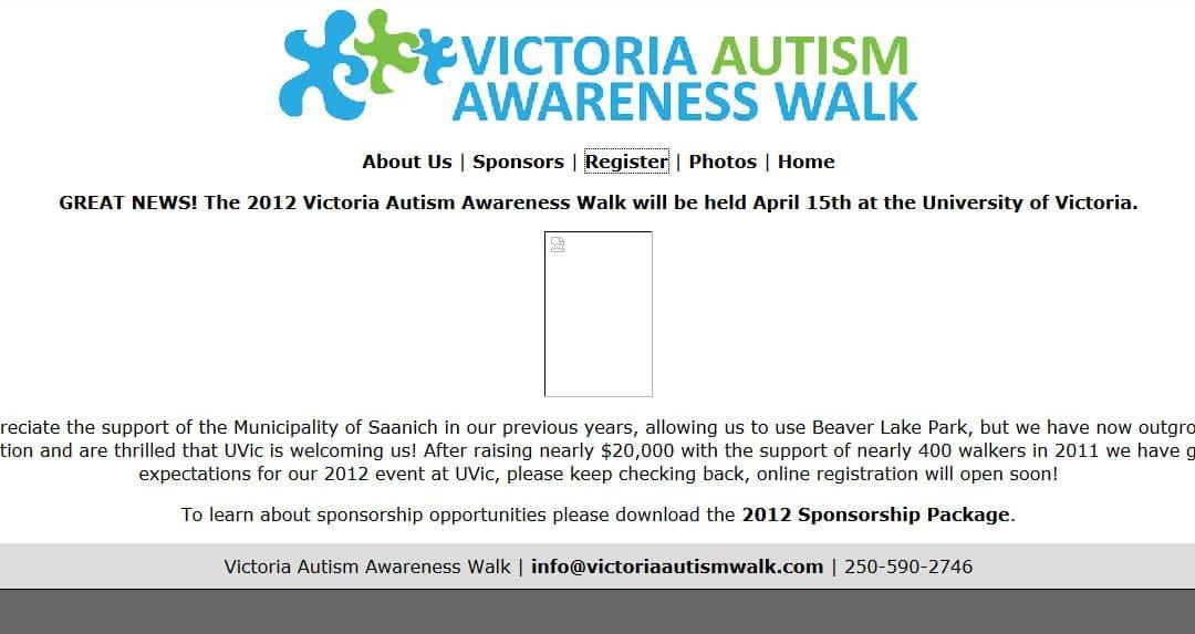 Victoria Autism Awareness Walk