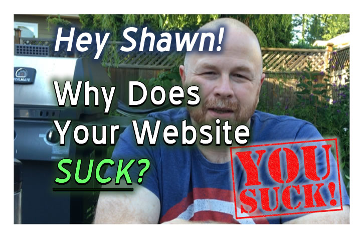 Why Did The Old ShawnDeWolfe.com Suck?!?
