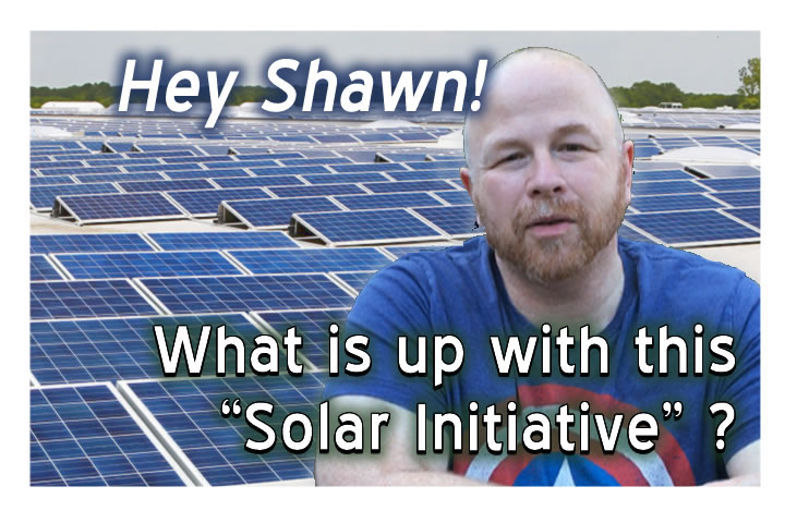 "What's Up With The ""Solar Initiative"""