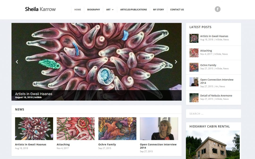 Sheila Karrow – WordPress Repairs and Replacement of the Blogdrops Theme